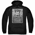 Joker pull-over hoodie Joker Inmate adult black