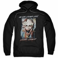 Joker pull-over hoodie Just For Laughs adult black