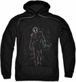 Joker pull-over hoodie Leaves Arkham adult black