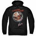 Joker pull-over hoodie Looking Good adult black