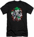 joker slim-fit t-shirt Four Of A Kind mens black