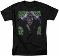 Joker t-shirt Insanity mens black