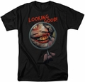 Joker t-shirt Looking Good mens black