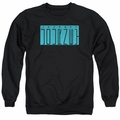 Journey adult crewneck sweatshirt Escape Logo black