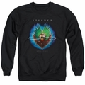 Journey adult crewneck sweatshirt Evolution black
