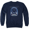 Journey adult crewneck sweatshirt Frontiers Cover navy