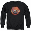 Journey adult crewneck sweatshirt Infinity Cover black