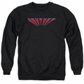 Journey adult crewneck sweatshirt Perspective Logo black