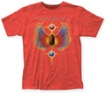Journey Hits fitted jersey tee heather red mens pre-order