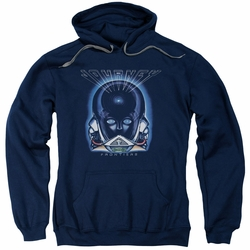 Journey pull-over hoodie Frontiers Cover adult navy