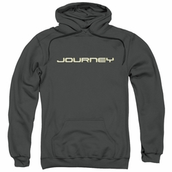 Journey pull-over hoodie Logo adult charcoal