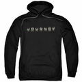 Journey pull-over hoodie Repeat Logo adult black