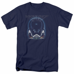 Journey t-shirt Frontiers Cover mens navy