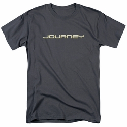 Journey t-shirt Logo mens charcoal