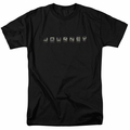 Journey t-shirt Repeat Logo mens black