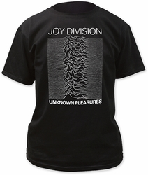 Joy Division Unknown Pleasures Adult t-shirt