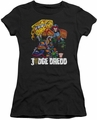 Judge Dredd juniors t-shirt Bike And Badge black