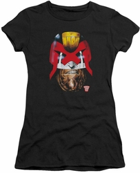 Judge Dredd juniors t-shirt Dredd's Head black