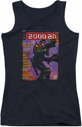 Judge Dredd juniors tank top 1067 black