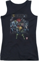 Judge Dredd juniors tank top Behind You black