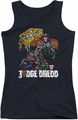 Judge Dredd juniors tank top Bike And Badge black