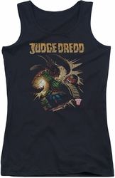 Judge Dredd juniors tank top Blast Away black