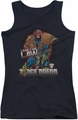 Judge Dredd juniors tank top Law black
