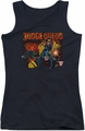 Judge Dredd juniors tank top Through Fire black