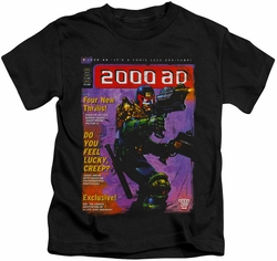 Judge Dredd kids t-shirt 1067 black