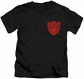Judge Dredd kids t-shirt Badge black