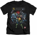 Judge Dredd kids t-shirt Behind You black