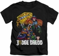 Judge Dredd kids t-shirt Bike And Badge black