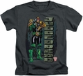 Judge Dredd kids t-shirt Blam charcoal