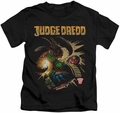 Judge Dredd kids t-shirt Blast Away black