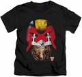 Judge Dredd kids t-shirt Dredd's Head black