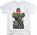 Judge Dredd kids t-shirt In My Sights white