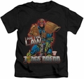 Judge Dredd kids t-shirt Law black