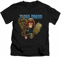 Judge Dredd kids t-shirt Smile Scumbag black