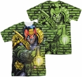 Judge Dredd mens full sublimation t-shirt Matrix