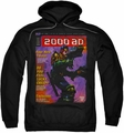 Judge Dredd pull-over hoodie 1067 adult black