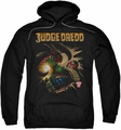 Judge Dredd pull-over hoodie Blast Away adult black