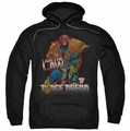 Judge Dredd pull-over hoodie Law adult black