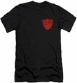 Judge Dredd slim-fit t-shirt Badge mens black