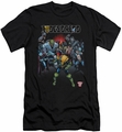 Judge Dredd slim-fit t-shirt Behind You mens black