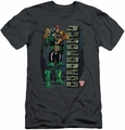 Judge Dredd slim-fit t-shirt Blam mens charcoal