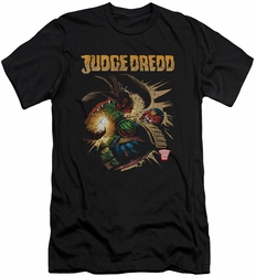 Judge Dredd slim-fit t-shirt Blast Away mens black