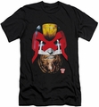Judge Dredd slim-fit t-shirt Dredd's Head mens black