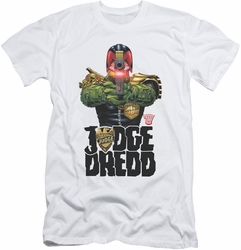 Judge Dredd slim-fit t-shirt In My Sights mens white