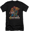 Judge Dredd slim-fit t-shirt Law mens black