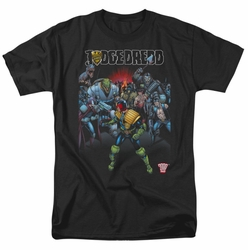 Judge Dredd t-shirt Behind You mens black